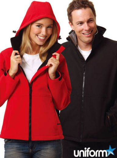 Softshell Hooded Jacket